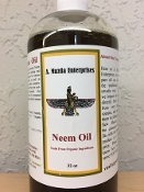 Neem/Sesame Oil Organic Ingredients -32oz